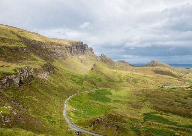 Staffin path. Picture: Contributed
