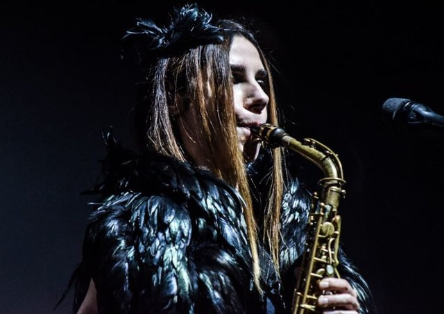 PJ Harvey at the SECC, Glasgow. Picture: Calum Buchan