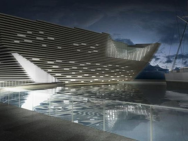 Dundee's V&A museum is due to open in the summer of 2018.