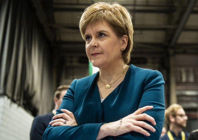 Nicola Sturgeon has said she is determined to save Scotland from Brexit. Picture: John Devlin