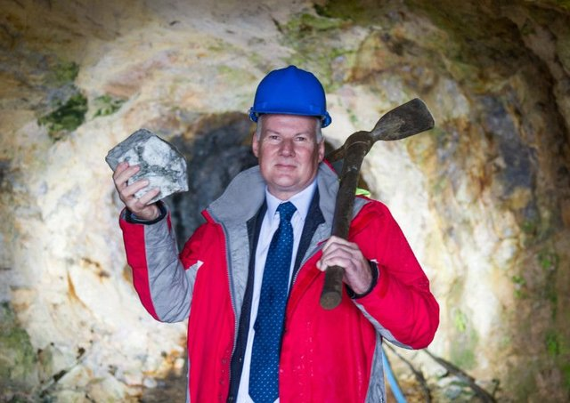 Scotgold Resources chief executive Richard Gray.  Picture: John Devlin