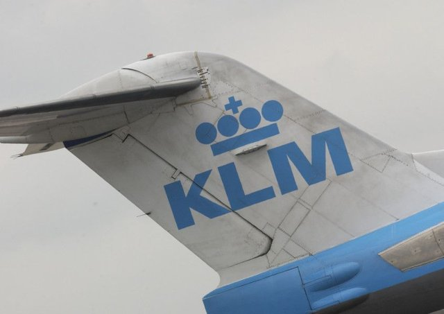 The KLM became unwell as the flight taxied towards the runway. Picture: Phil Wilkinson