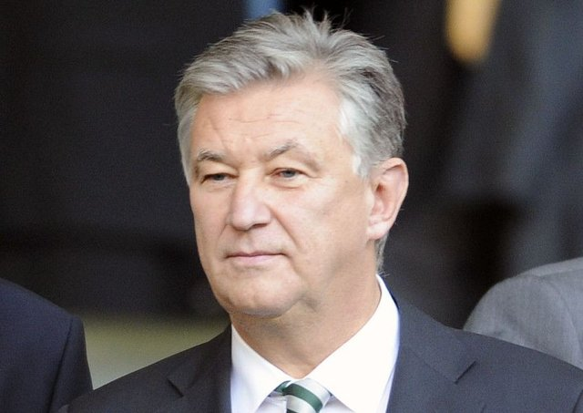 Peter Lawwell believes Celtic are held back by being in Scottish football. Picture: John Devlin