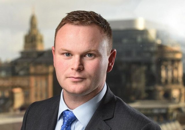 Kenneth McEwen has been made a partner at Henderson Loggie's Glasgow office. Picture: Contributed