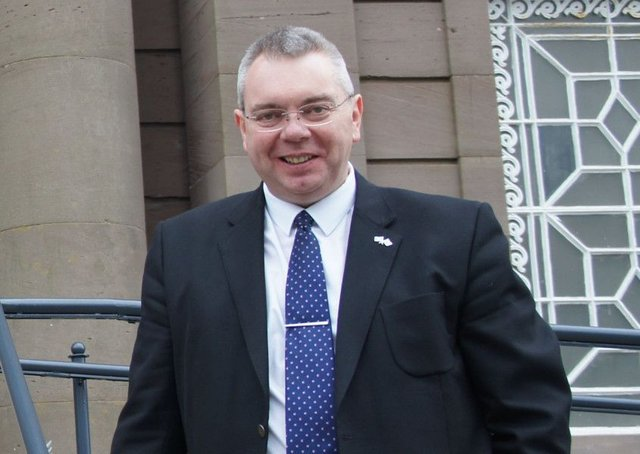 Alex Johnstone MSP, who has died at 55 after a short illness. Picture: Contributed