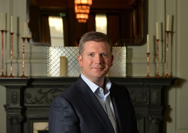 Conor O'Leary is the new hotel manager at Gleneagles. Picture: Contributed
