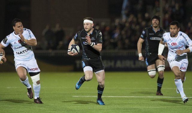 Finn Russell gave a stand-off masterclass in the victory against Racing 92 on Friday night. Picture: Gary Hutchison/SNS/SRU