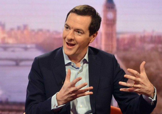 Osborne said Brexit had made Britain poorer. Picture: Getty Images