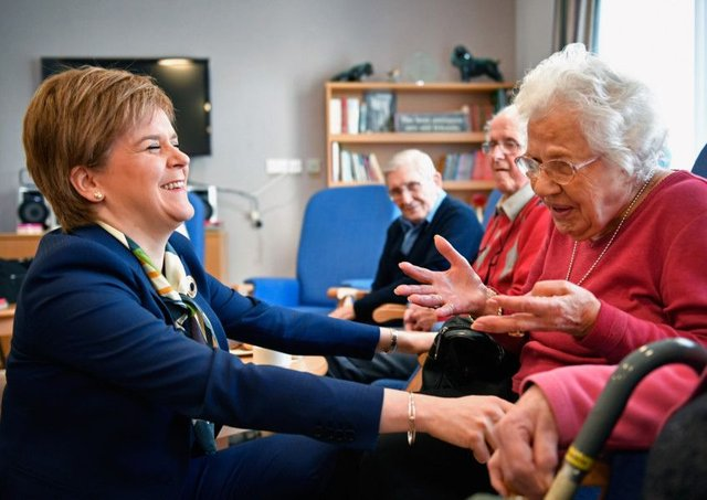 First Minister Nicola Sturgeon has admitted that it will take at least years to deliver a new network of trauma centres across Scotland.  Photo by Jeff J Mitchell - WPA Pool /Getty Images