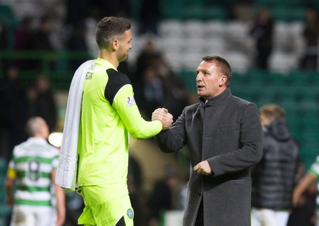 Craig Gordon, left, has been subject of interest from Chelsea. Picture: SNS