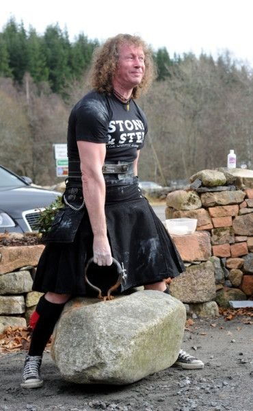 Son Matches Father S Feat Of Lifting Ancient Deeside Boulders The Scotsman