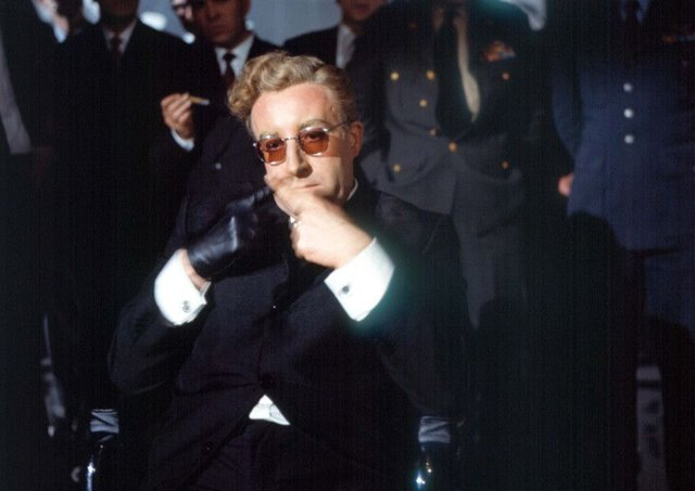 Peter Sellers as the trigger-happy Dr Strangelove. Picture: Moviestore/REX/Shutterstock