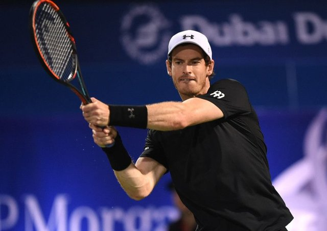 Andy Murray defeated Fernando Verdascoto win the ATP Dubai Duty Free Tennis Championship.  Picture: Tom Dulat/Getty Images