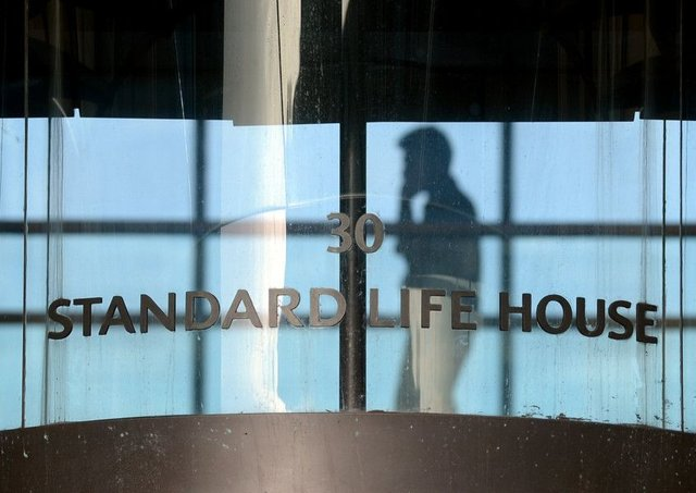 Standard Life shareholders would own 66.7 per cent of the combined group, if a merger takes place. Pic Neil Hanna