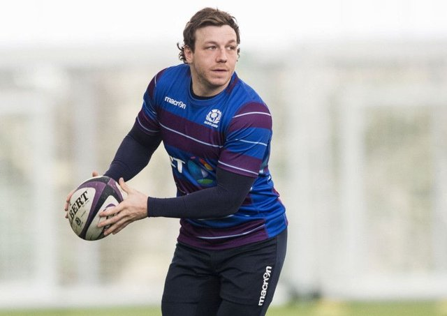 Scotland's Hamish Watson will start against England. Picture: Gary Hutchison/SNS/SRU