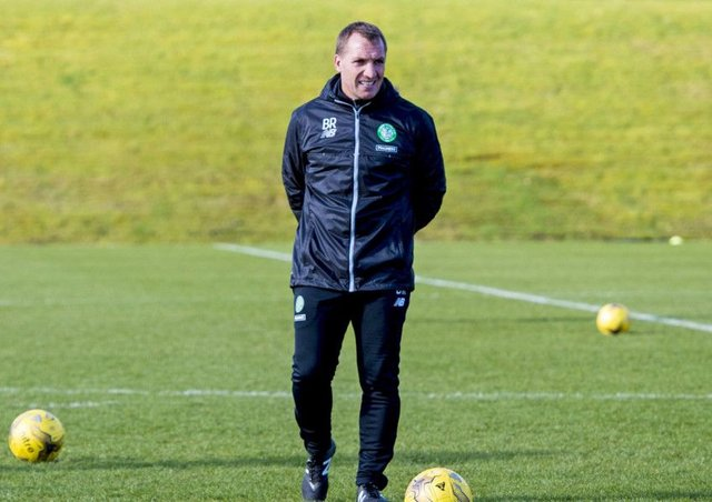 Celtic manager Brendan Rodgers was pleased with the hiring. Picture: SNS