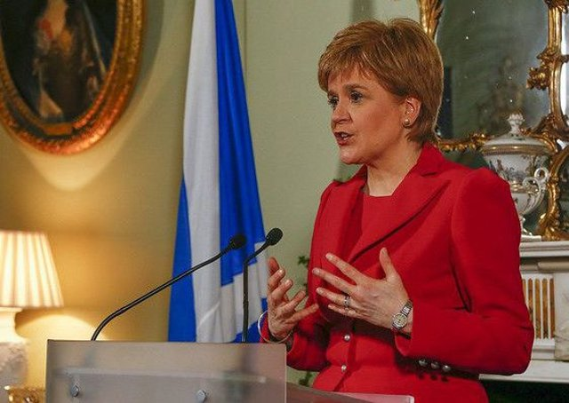 On Monday, Nicola Sturgeon said she will seek a second independecne vote. Picture: PA
