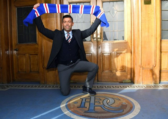 New Rangers manager Pedro Caixinha is unveiled at Ibrox. Picture: Craig Williamson/SNS
