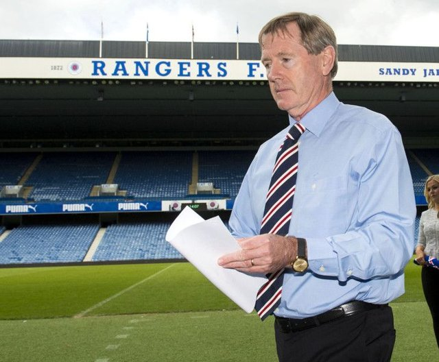 Rangers chairman Dave King has threatened to sue Mark Warburton over the manager's departure from Ibrox. Picture: Alan Harvey/SNS