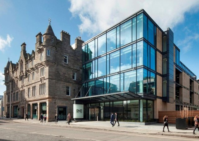 One Lochrin Square is aimed at occupiers in Edinburgh's technology, media and telecoms arena. Picture: McAteer Photograph