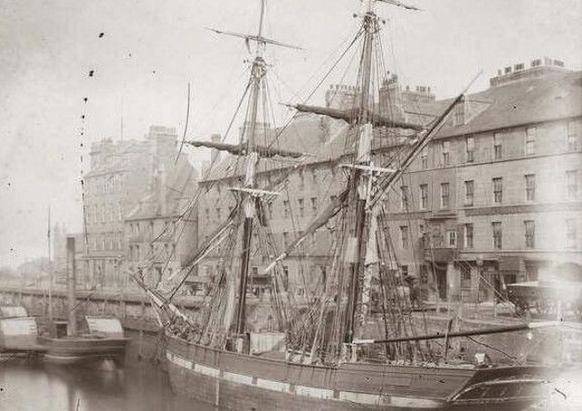 Scots children were abducted en masse in the 18th century and sent to plantations in the Americas from ports such as Leith (pictured) and Aberdeen. Picture: City of Edinburgh Libraries