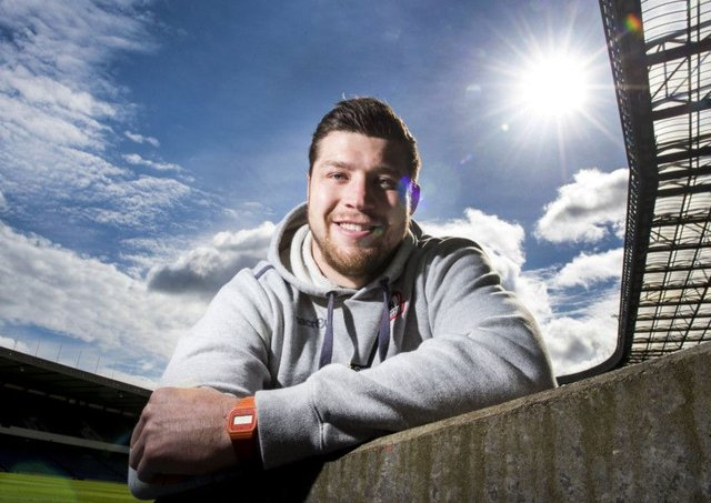 Edinburgh's Grant Gilchrist has signed a new two-year contract. Picture: Paul Devlin/SNS/SRU