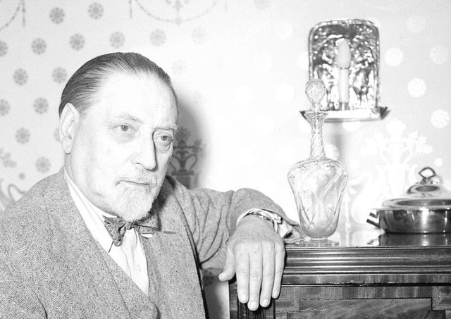 Author Sir Compton MacKenzie was prosecuted under the Official Secrets Act following publication of his WWI memoir. PIC: TSPL.