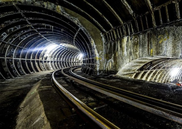 the former Post Office Railway in London will reopen in July. Photograph: Miles Willis
