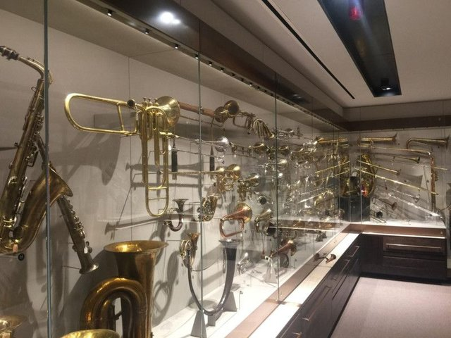 Nearly 500 historic instruments have gone on display at the new look St Cecilia's Hall.
