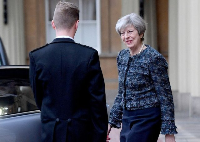 Theresa May will have been given a major boost by the results to her hopes of a General Election landslide on June 8. Picture: Getty
