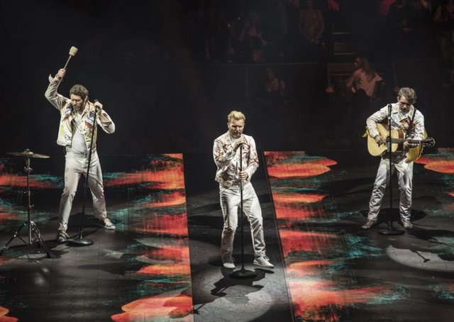 Take That performing at Glasgow's SSE Hydro as part of their Wonderland Tour  PIC: Calum Buchan Photography