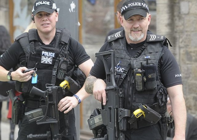 Well all need to get used to a more visible presence of armed police and doubtless security checks too