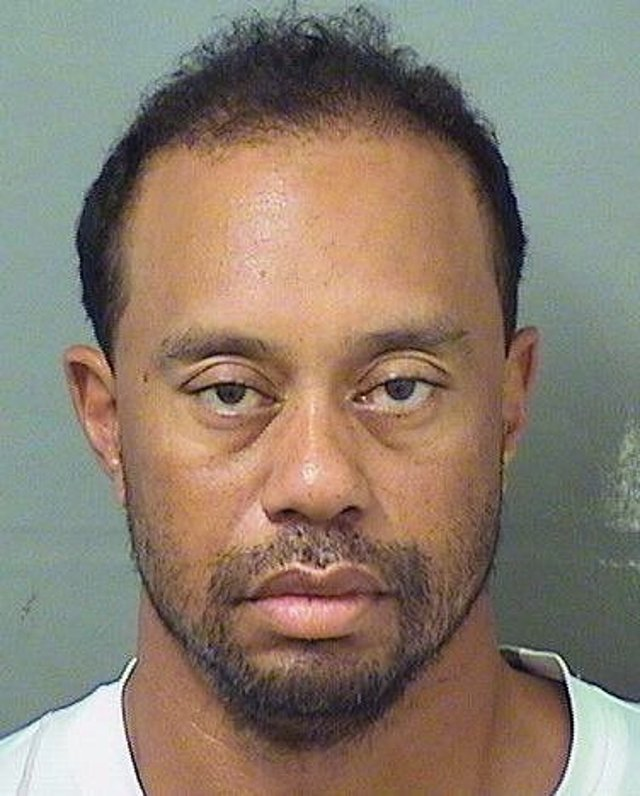 This image provided by the Palm Beach County Sheriff's Office on Monday, May 29, 2017, shows Tiger Woods. Police in Florida say Tiger Woods has been arrested for DUI.   (Palm Beach County Sheriuff's office via AP)