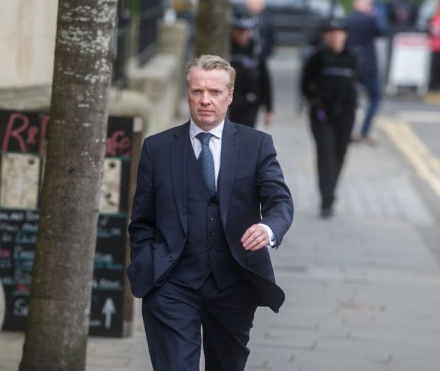 Craig Whyte arrives at court. Picture: SNS
