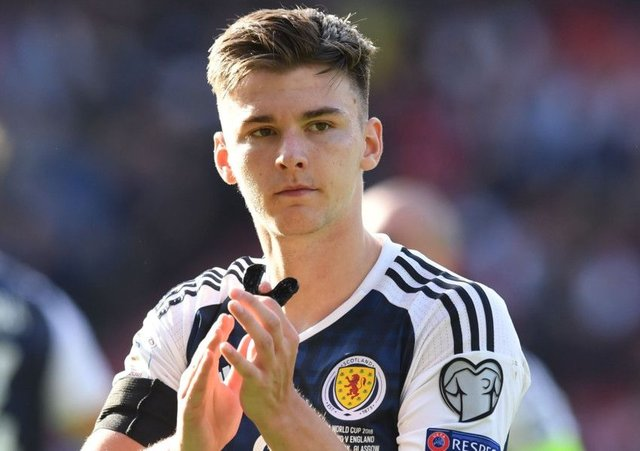 Kieran Tierney played at centre-back forn Scotland. Picture: SNS/Craig Williamson