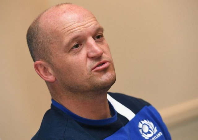 Scotland rugby union coach Gregor Townsend. Picture: AFP/Getty