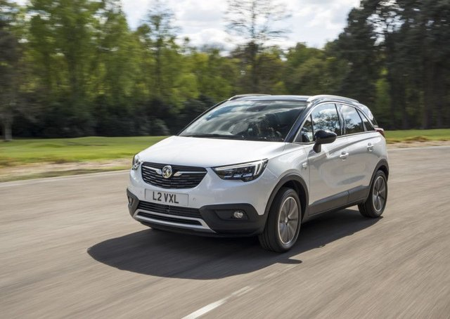 The Crossland X is similar in size to the Mokka X but lacks its ground clearance