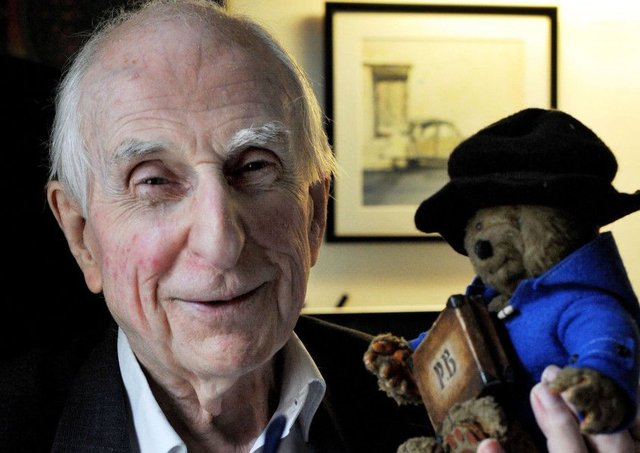 Paddington Bear creator Michael Bond has died at the age of 91. Picture: PA