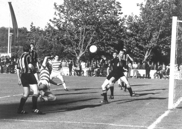 Inter Milans Giuliano Sarti stopped 13 potential Celtic goals in Lisbon on 25 May 1967 (Picture: AP)