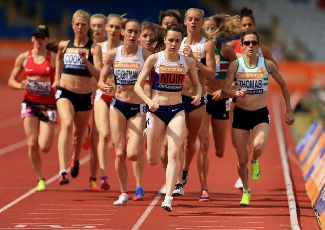 Laura Muir has recovered from injury. Picture: Stephen Pond/British Athletics via Getty Images
