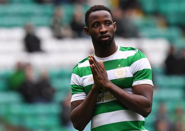 Arsenal have set their sights on Moussa Dembele. Pic: SNS