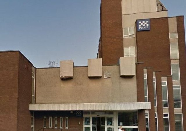 The incident happened outside Ayr Police office on King Street. Picture; Google Maps