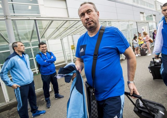FC Astana manager Stanimir Stoilov. Picture: SNS/Bill Murray