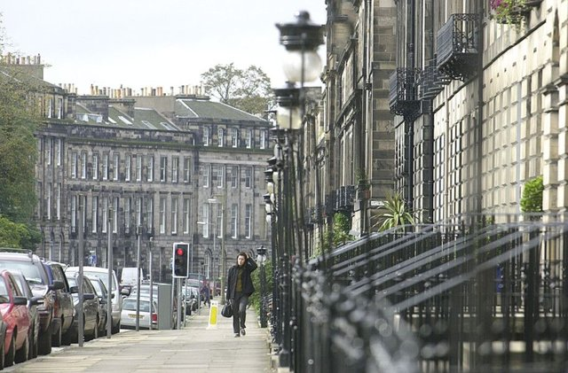 The New Town is the most expensive area in Edinburgh. Picture: TSPL