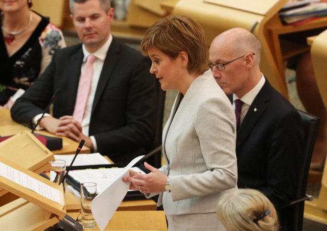 First Minister Nicola Sturgeon announces her Scottish Government's legislative programme for the coming year.