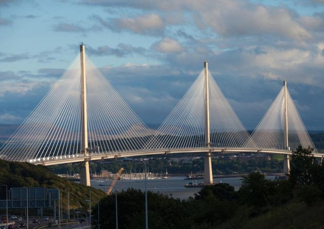 The Queensferry Crossing. Picture: Transport Scotland