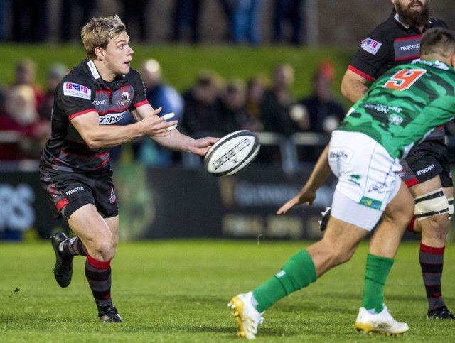 Nathan Fowles has  so far shared Edinburghs scrum-half duties in the Guinness Pro14 with Sam Hidalgo-Clyne. Picture: SNS/SRU