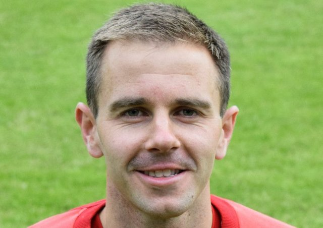 Albions top scorer Alan Trouten put the home side in front