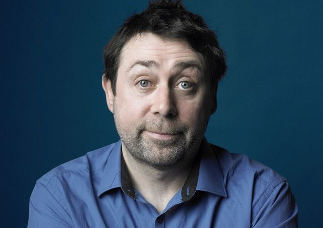 Sean Hughes:  Comedian, author, actor and TV personality