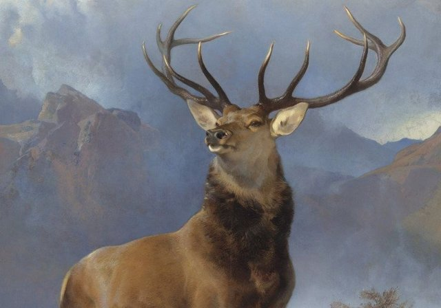 Sir Edwin Landseer's The Monarch Of The Glen. Picture: National Museum of Scotland
